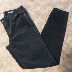 Joe Fresh Classic Slim Dark Blue Cordoroy Pants